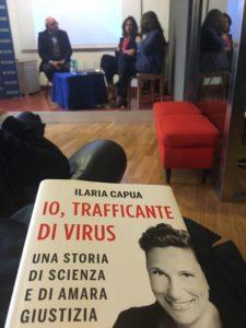 Ilaria Capua libro Io trafficante di virus