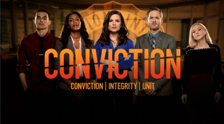 Conviction locandina