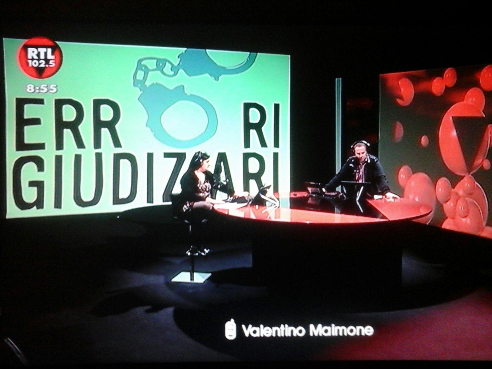 """Errorigiudiziari.com ospite di Rtl 102.5: """"Il caso Massaro, tra i più clamorosi di sempre"""""""