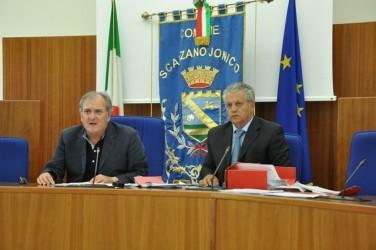 Sabatino Casulli con l'avvocato Giuseppe Labriola
